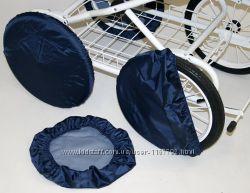 Чехлы на колеса колясок