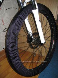 Чехлы для колес велосипеда