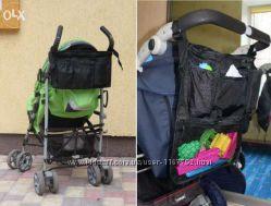 Раскладной органайзер, сумка для коляски