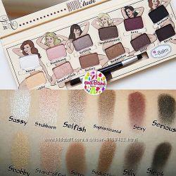 Палетка теней TheBalm Nude &acutetude nude eyeshadow palette