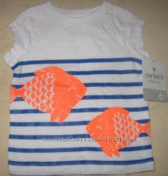 Класснючая футболка Carters 6 мес. Оригинал