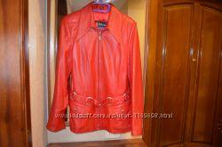 Куртка кожаная размер М