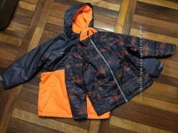 Куртка зимняя демисезоння swisstech 3 в 1 на 6-7 лет новая