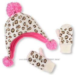 Зимний комплект Childrens Place - шапка и варежки