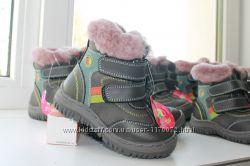 Зимние ботинки для мальчика 22, 23 рр