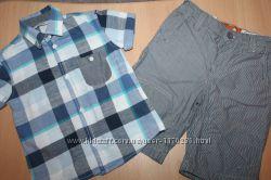 Рубашка george и шорты F&F на 2-3-4 года