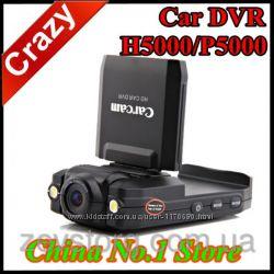 Видеорегистратор с поворотным ЖК-дисплеем и подсветкой