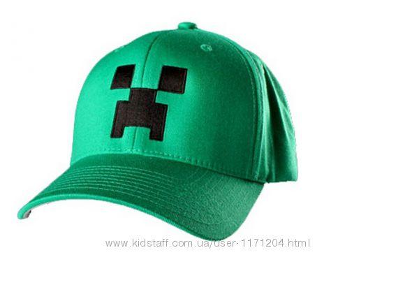 Кепка Бейсболка Minecraft майнкрафт