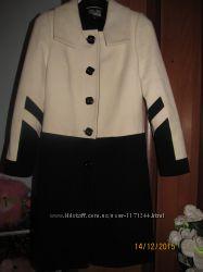 Демисезонне кашимірове пальто