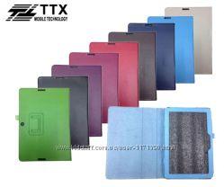 Кожаный чехол-книжка TTX с функцией подставки для Asus TF103C  TF103CG