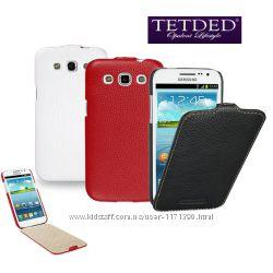Кожаный чехол флип TETDED для Samsung i8552 Galaxy Win