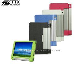 Кожаный чехол-книжка TTX с функцией подставки для Lenovo Yoga Tablet b6000