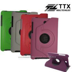 Кожаный чехол-книжка TTX 360 градусов для Asus MeMO Pad HD 7&8243 ME173