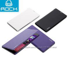 Кожаный чехол книжка Rock Belief Series для Sony Xperia T3
