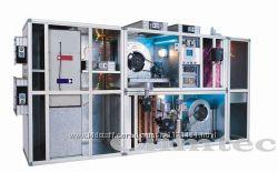 Приточно-вытяжные установки полу промышленные с рекуперацией тепла