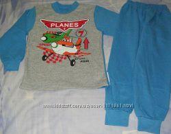 Теплая пижамка Летачки р110-116