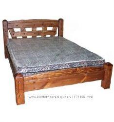 Кровать из дерева, Кровать Добряк