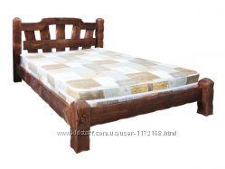Кровать деревянная, Кровать Хуторок