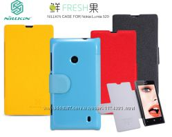 Кожаный чехол книжка Nillkin Fresh Series для Nokia Lumia 520525