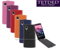 Кожаный чехол флип TETDED для LG D820 Nexus 5