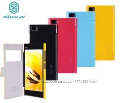 Кожаный чехол книжка Nillkin Fresh Series для Xiaomi MI3