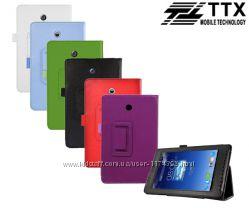 Кожаный чехол-книжка TTX с функцией подставки к Asus Fonepad HD 7 ME 372CG
