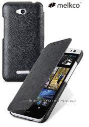 Кожаный чехол книжка Melkco для HTC Desire 616