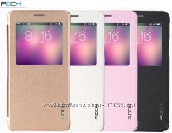 Кожаный чехол книжка Rock Uni Series для Samsung N910H Galaxy Note 4