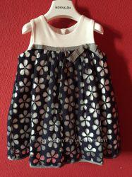 Красивое платье Monnalisa baby р. 18 мес