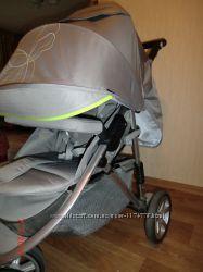 Прогулочная коляска Geoby C781R Серый с салатовым