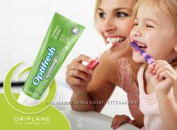 Разнообразие зубных паст Оптифреш от Oriflame