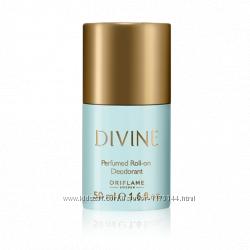 Парфюмированный дезодорант Divine, Elvie, Volare  от Oriflame