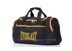 Черная мужская спортивная сумка EVERLAST