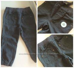 Новые серые котоновые штаны Теско