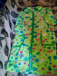 Велюровый халат на девочку