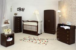 Кроватки, комоды, шкафы, матрасы компании Верес