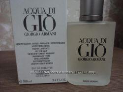 Мужская туалетная вода ARMANI ACQUA DI GIO, 100ml, ТЕСТЕР