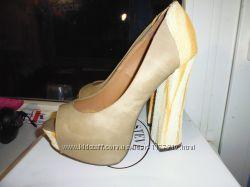 кожаные туфли 36-37