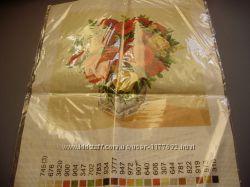 Набір для вишивання, схема на тканині