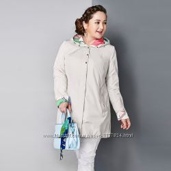 Демисезонная куртка, плащ astrid больших размеров, батал 48, 50, 52, 54, 56