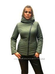 Демисезонная куртка косуха lusskiri 6163 l, xl, xxl, 3xl, 4xl