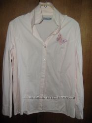Блузка рубашка 52-54  Jackie светло-оранжевая