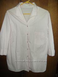 Блузка рубашка 52-54 Atelier Creation   розовая
