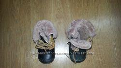 Продам зимние теплые ботиночки 21 размера.