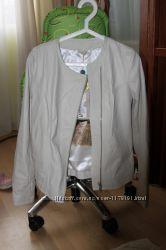 Итальянская кожаная куртка, новая S