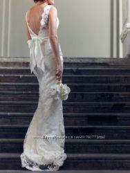 Свадебное платье от дизайнера в идеальном состоянии