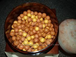 Румяна шарики  бронзовые