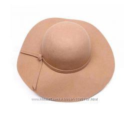 Фетровая новая шляпа