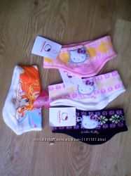 Детские повязки на девочек с героями винкс и хелло китти