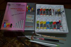 Набор акриловых красок в тубах 18 шт ACR-01